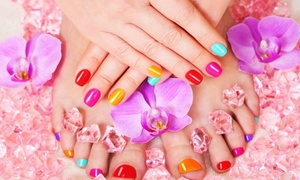 FIONA'S SPALON: Up to 52% Off Mani-Pedis at FIONA'S SPALON