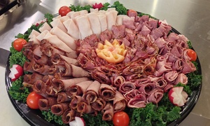 Bebe's Kosher Deli: Sandwich Tray for 10 or Fresh-Cut Deli Meat Tray for 10 or 20 at Bebe's Kosher Deli (Up to 34% Off)