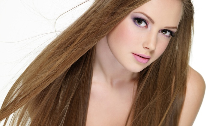 Le Posh Hair Salon - Upper West Side: Haircut with Matrix Shine Gloss, Aveda Conditioning, or Multicolor Highlights at Le Posh Hair Salon (Up to 62% Off)