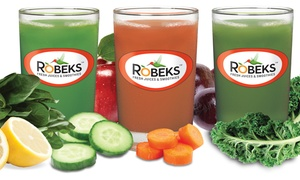 Robeks: $12 for Two Groupons, Each Good for $12 Worth of Smoothies at Robeks ($24 Value)
