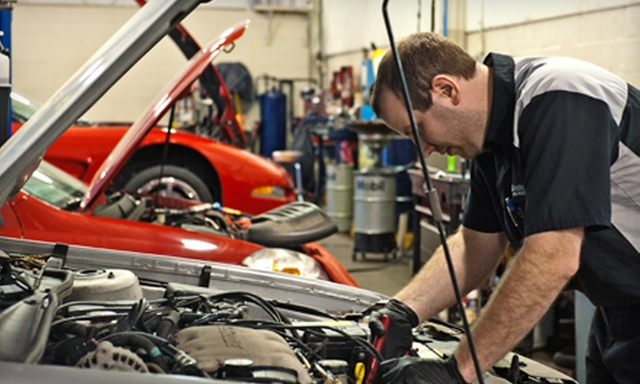 Bill Estes Chevrolet - Bill Estes Chevrolet: Oil-Change Packages at Bill Estes Chevrolet (Up to 56% Off). Four Options Available.