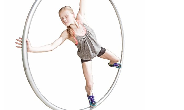 Calgary Acrobatic Studio - Calgary: Month of Wheel-Gymnastics Classes for One or Two at Calgary Acrobatic Studio (Up to 57% Off)
