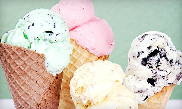 Scoops 'n more - Ludlow: $14 for Five Orders of Ice Cream, Yogurt, and Smoothies at Scoops 'n more in Dumont (Up to $30 Value)