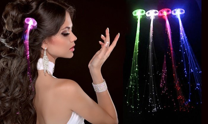 Led hair extensions 4 pack groupon goods led hair extensions 4 pack led hair extensions 4 pack pmusecretfo Gallery