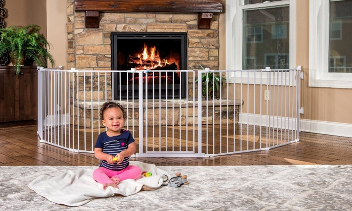 Up To 33 Off On Regalo 192 Quot Wide Child Gate Groupon Goods