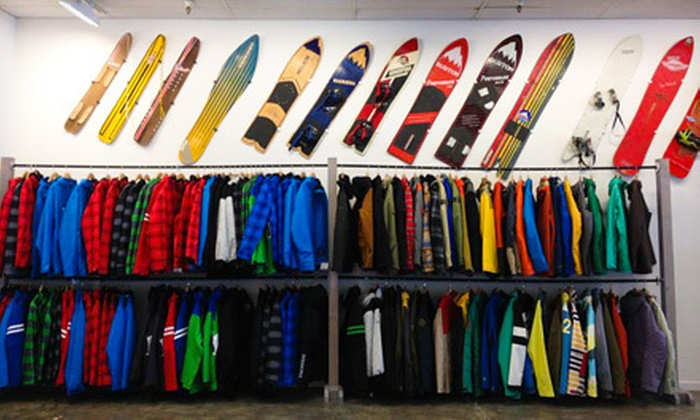 1-2-X-U - Cupertino: $20 for $40 Worth of Snow, Skate, and Surf Gear from 1-2-X-U