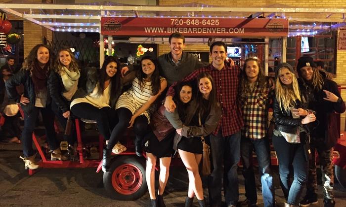 Bike Bar Denver  - Bike Bar Denver: Up to 50% Off Pub Crawl at Bike Bar Denver