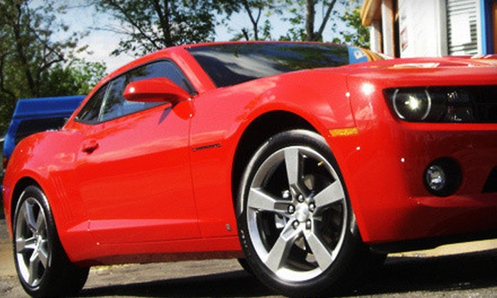 Showroom Shine Express Detailing - Normandy: Detailing Packages at Showroom Shine Express Detailing (Up to 58% Off). Two Options Available.