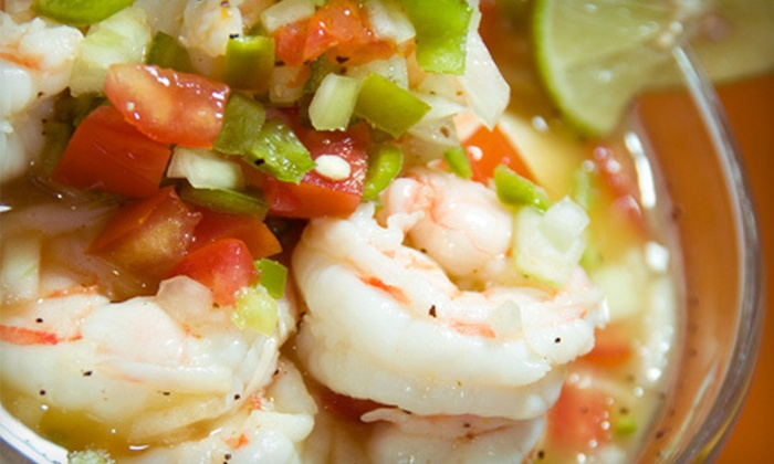 Cafe Del Sol - Belvedere: Mexican Fare for Two or Four at Cafe del Sol (Half Off)