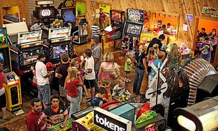 America's Action Territory - Kenosha: $40 for Family-Fun Outing for Four with All-Day Play Passes and Pizza Meal at America's Action Territory ( Value)