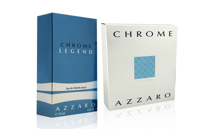 Azzaro Chrome, Chrome Sport or Chrome Legend Eau de Toilette for Men; Multiple Sizes Available