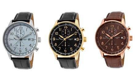 Lucien Piccard Montilla Men's Chronograph Watch Collection