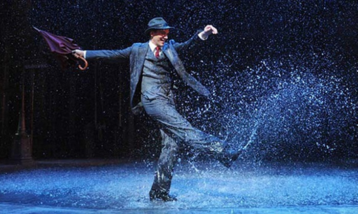 """""""Singin' in the Rain"""" - Zeiterion Theatre: New Bedford Festival Theatre's """"Singin' in the Rain"""" at Zeiterion Theatre on August 1–4 (Up to 57% Off)"""