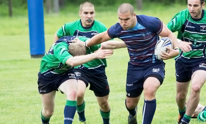 Monmouth Rugby Football Club - Red Bank: Monmouth Rugby Football Club Men's or Women's Playing Membership for One or Two (Up to 74% Off)