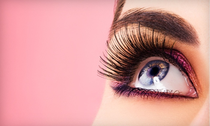 Lashes and Makeup - Northeast Dallas - White Rock: One or Two Full Sets of Eyelash Extensions at Lashes and Makeup (Up to 70% Off)