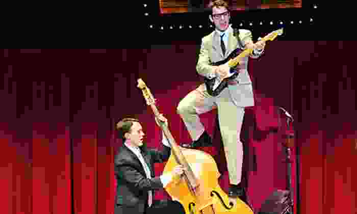 """""""Buddy, The Buddy Holly Story"""" - Ogunquit Playhouse: """"Buddy: The Buddy Holly Story"""" at Ogunquit Playhouse on October 6, 10, or 13 (Up to 45% Off)"""