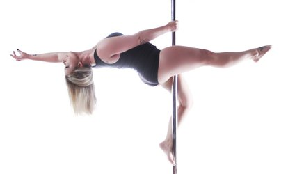 image for 90-Minute Introductory Pole-Dancing or Burlesque Class at Tease Dance and <strong>Fitness</strong> (50% Off)
