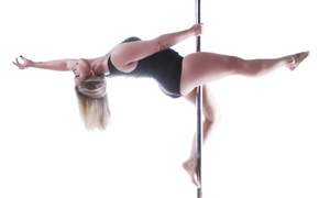 Tease Dance and Fitness: 90-Minute Introductory Pole-Dancing, Aerial Silks, or Burlesque Class at Tease Dance and Fitness (50% Off)