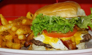 The Flipside Grille: Comfort Food for Two or Four at The Flipside Grille (Up to 40% Off)