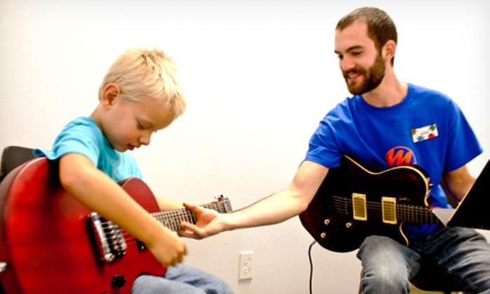 Music Masters - Eugene: $29 for Four 30-Minute Private Music Lessons at Music Masters ($99 Value)