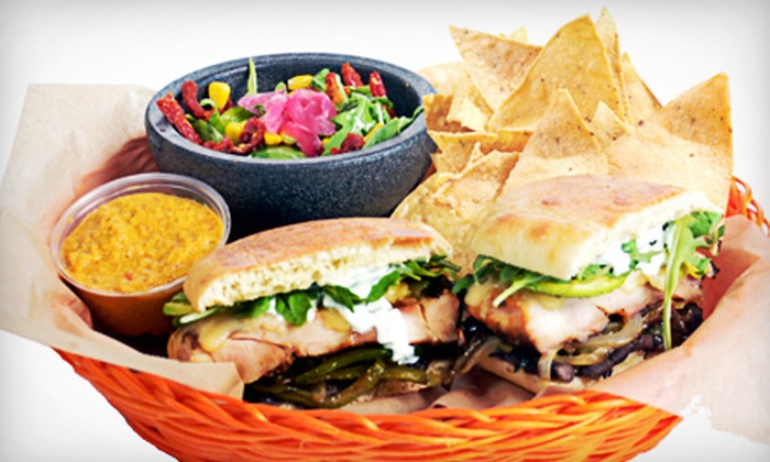 Salsa Fiesta - Pembroke Pines: Tortas and Drinks for Two or Four at Salsa Fiesta (Up to 58% Off)