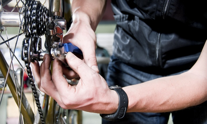 Top Shelf Sports - Grosvenor Park: $24.99 for a Full Bike Tune-Up at Top Shelf Sports ($49.99 Value)