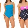 Coco Limon Women's Plus-Size 1-Piece Swimsuit