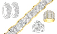 GROUPON: 2.00 CTTW Diamond Earrings, Ring, or Bracelet 2.00 CTTW Diamond Earrings, Ring, or Bracelet