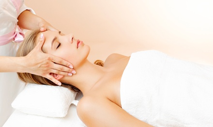 90-Minute Aromatherapy Facial with Optional 30-Minute Massage at Gemini Beauty Centre (Up to 56% Off)