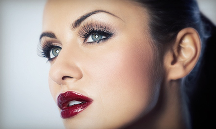 Lash Out Lounge - Lash Out Lounge: Full Set of Eyelash Extensions with Optional Refill at Lash Out Lounge (Up to 57% Off)