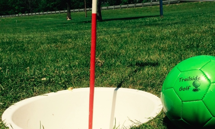 Trailside Golf - Center: Up to 53% Off Foot Golf with drinks   at Trailside Golf