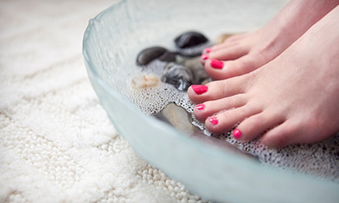 Krista Luper at Art of Image Salon Spa - Edmond: $27 for a Spa Pedicure with Reflexology and Hand Paraffin from Krista Luper at Art of Image Salon Spa ($55 Value)
