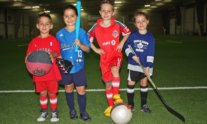 GTA Sportsplex - Concord: One Day or Week of Youth Summer Sports Camp at GTA Sportsplex (Up to 60% Off)