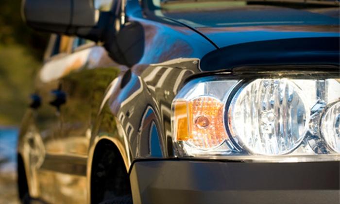 Cooks Collision - Multiple Locations: Headlight Restoration or Exterior Detail at Cooks Collision (Up to 76% Off)