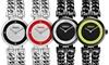 Versus Fanning Women's Double-Chain Bracelet Watch: Versus Fanning Women's Double-Chain Bracelet Watch with Swarovski Crystals
