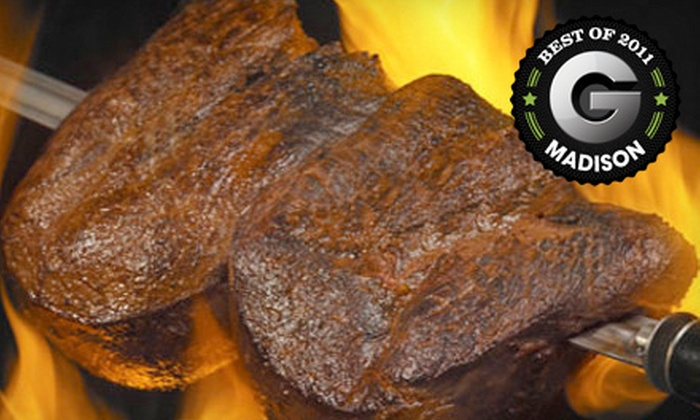 Samba Brazilian Grill - State-Langdon: $25 for $50 Worth of Rodízio-Style Fare at Samba Brazilian Grill