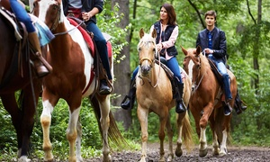 Marshall Canyon Equestrian Center: Guided Horseback Trail Rides at Marshall Canyon Equestrian Center (Up to 58% Off). Six Options Available.