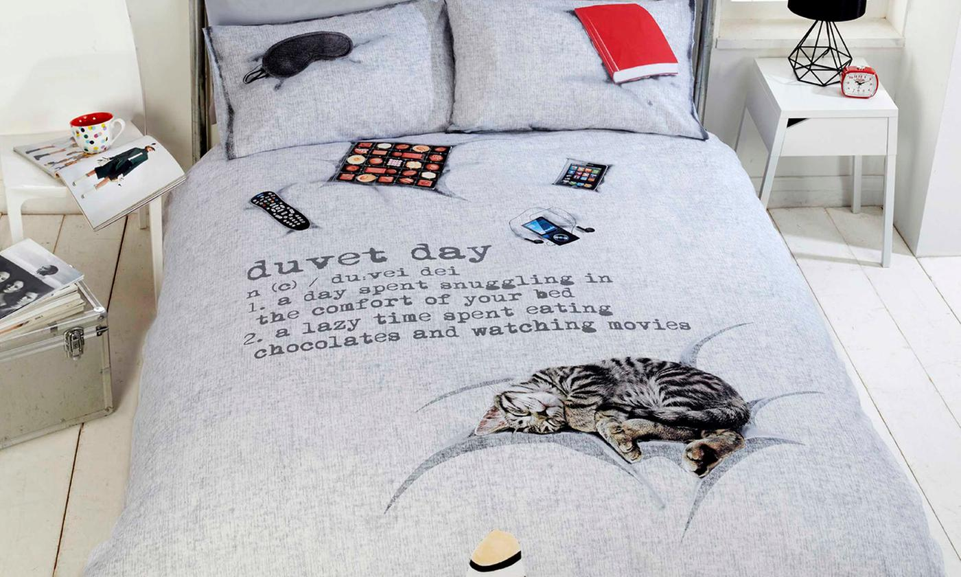 Rapport Home Duvet Day Duvet Cover Set in Choice of Size from £15
