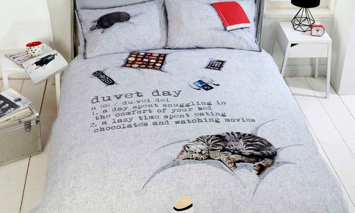 Rapport Home Duvet Day Duvet Cover Set in Choice of Size from £10