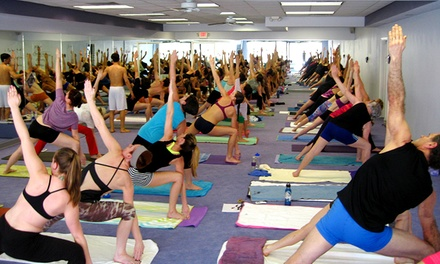 10 or 20 Hot-Yoga Classes at Wilmington Bikram Yoga (Up to 75% Off)