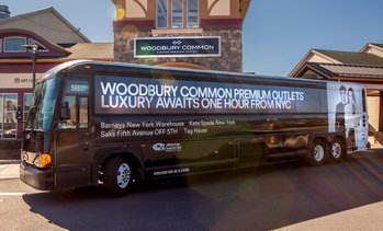 35% Off Round-Trip bus to Woodbury Common Premium Outlets