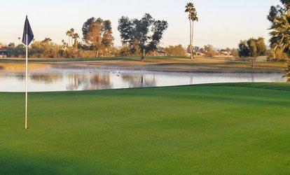 image for $18 for 18-Hole Round of Golf with Cart for One at Peoria Pines Golf and Restaurant ($36 Value)