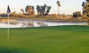 Peoria Pines Golf and Restaurant: $16 for 18 Holes of Golf with Cart at Peoria Pines Golf and Restaurant ($45 Value)