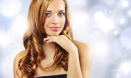 Haircut, Deep Conditioning, Blow-Dry, and Optional Color or Highlights at Lipstic Salon & Spa (Up to 57% Off)
