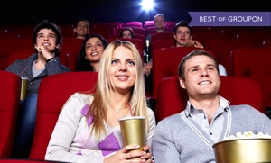Far Away Entertainment: Movie, Popcorn, and Soda for Two from Far Away Entertainment Theaters and Cinemas (Up to 48% Off)