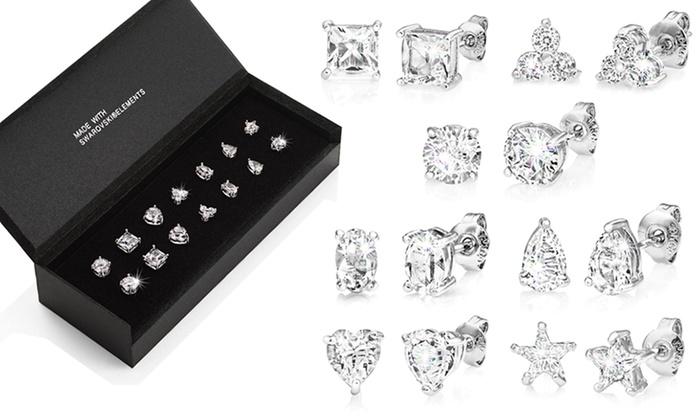 72484eca5c0740 Orecchini con SWAROVSKI ELEMENTS | Groupon Goods