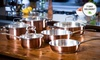 10-Piece Stainless Steel Cookware Set: Kevin Dundon 10-Piece Stainless Steel Cookware Set. Free Returns.