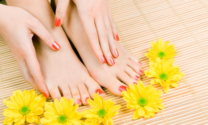 Art Nails & Spa II - Keller: Mani-Pedi Package for One or Two at Art Nails & Spa II (Up to 52% Off)
