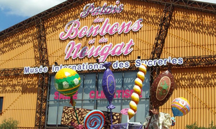Le palais des bonbons - Montélimar: Entrées pour adultes et enfants au Palais des Bonbons et du Nougat ainsi qu'à la Maison des Jouets dès 8 €