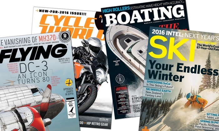 Blue Dolphin Magazines: One-Year Subscription from Blue Dolphin Magazines (Up to 53% Off). Four Options Available.